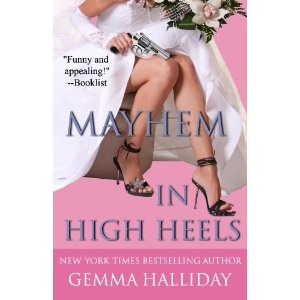 Mayhem in High Heels (High Heels Mysteries) (Kindle Edition)  http://www.amazon.com/dp/B00492CJX6/?tag=iphonreplacem-20  B00492CJX6