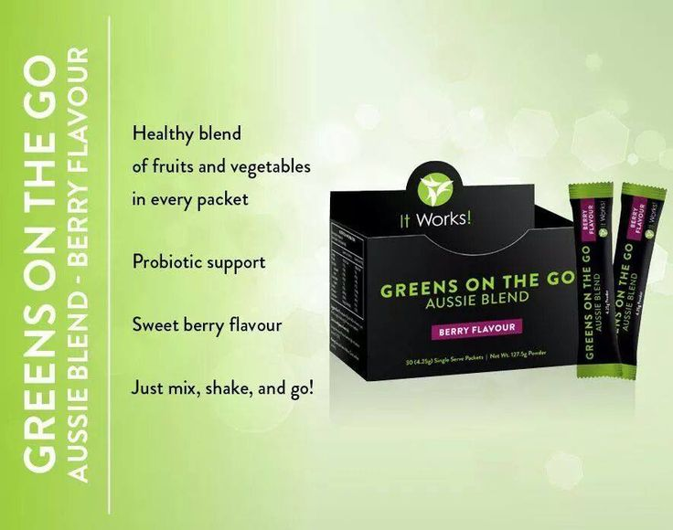Greens On The Go Aussie Blend Berry Flavour- All the goodness of our Greens on the go in convenient single serve sachets