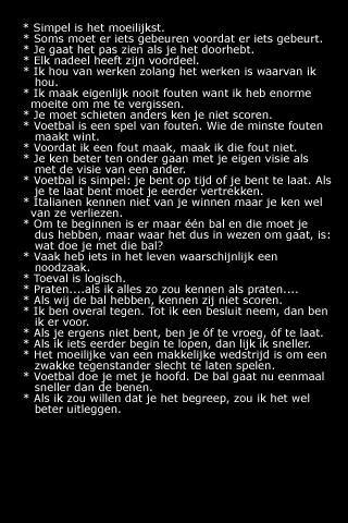 Uitspraken van Johan Cruijff