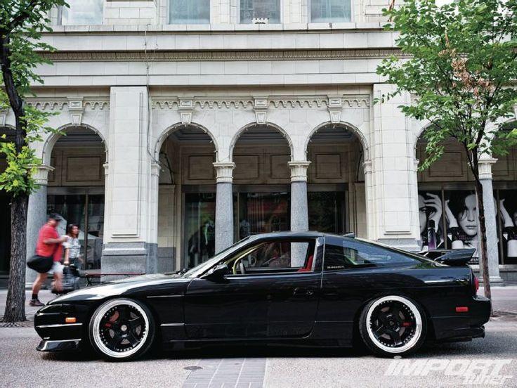 1992 Nissan 240SX Driver Side Profile