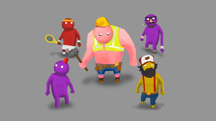 1920x1080 Picture for Desktop: gang beasts
