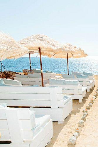 Experimental Beach Ibiza, beach wedding venue - White Ibiza
