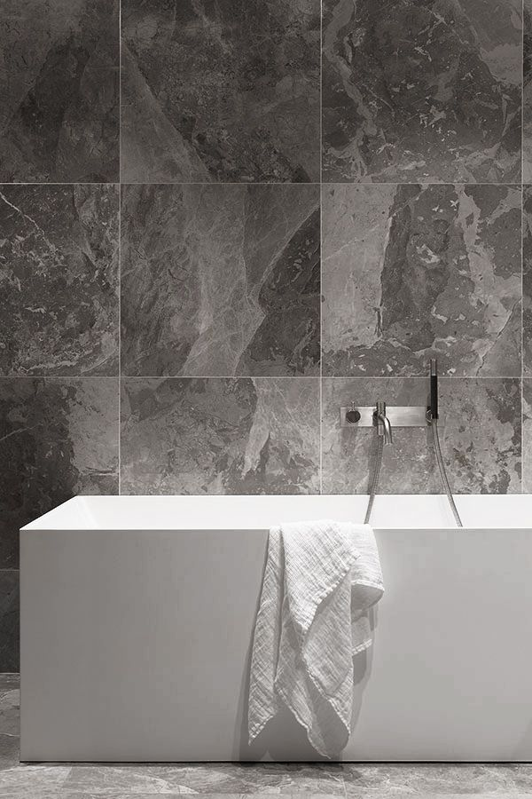 Bathroom grey marble