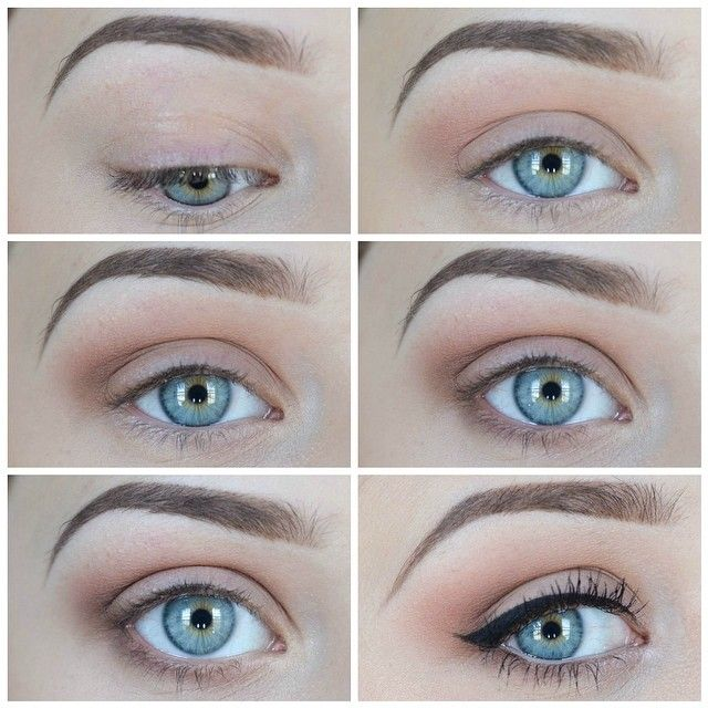 Simple and Natural eyeshadow tutorial