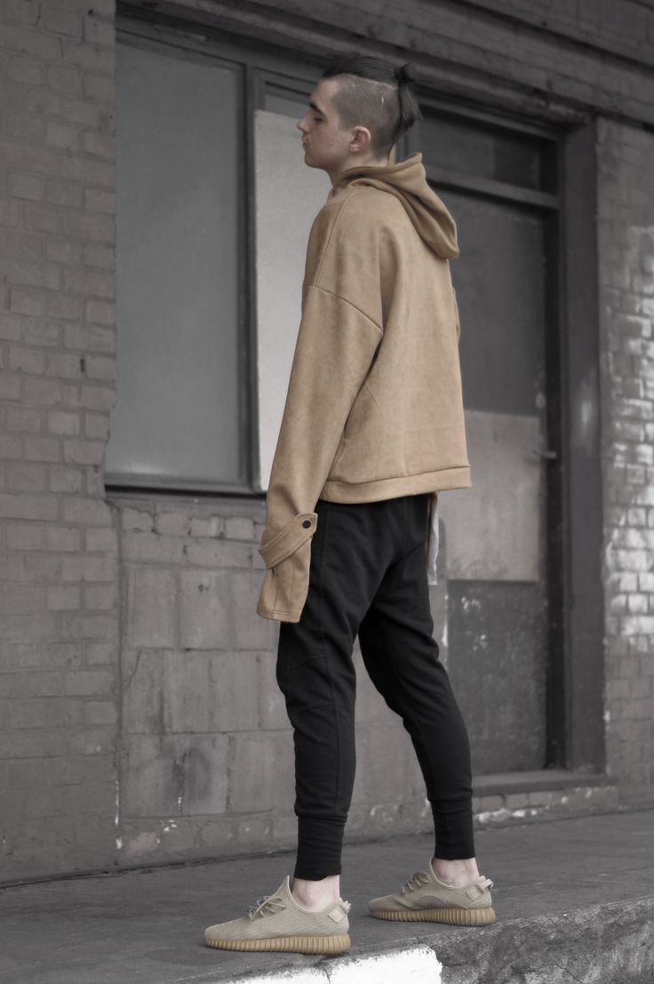Over the law - Wears LUSIF Suede Hoodie SS1
