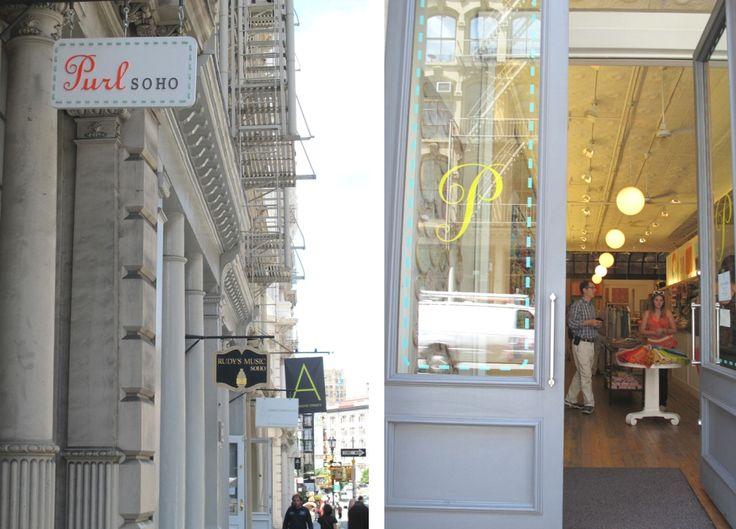 Tienda telas en Nueva York