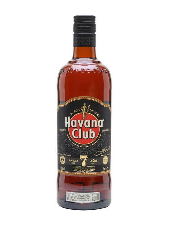 Havana Club 7yo is a full-flavoured, rich and sophisticated Cuban rum with a high degree of elegance and class. A deservedly popular rum.
