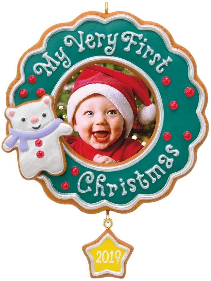 My Very First Christmas Baby Photo 2019 Hallmark Keepsake
