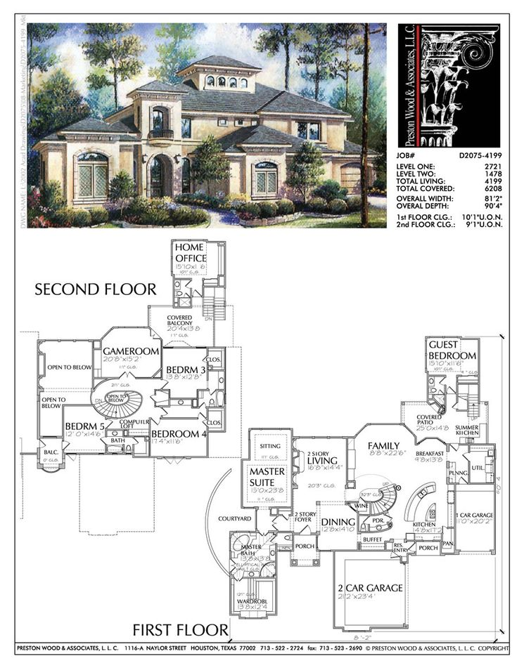 Two Story House Building Plans New Home Floor Plan