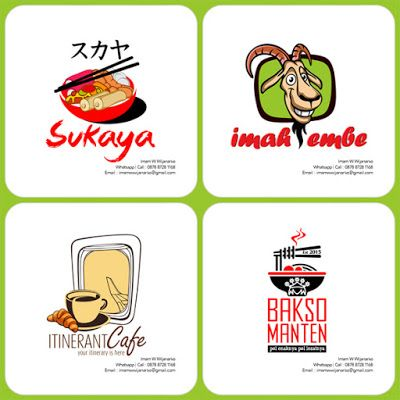 Desain dan Produksi Gerobak: Desain Logo Kuliner