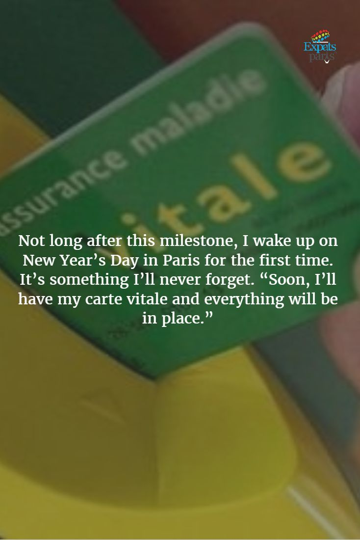 Still hoping to get my Carte Vitale