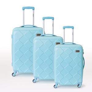"TORRENTE COUTURE - ""Pietri"" 3 piece suitcase set  Blue"