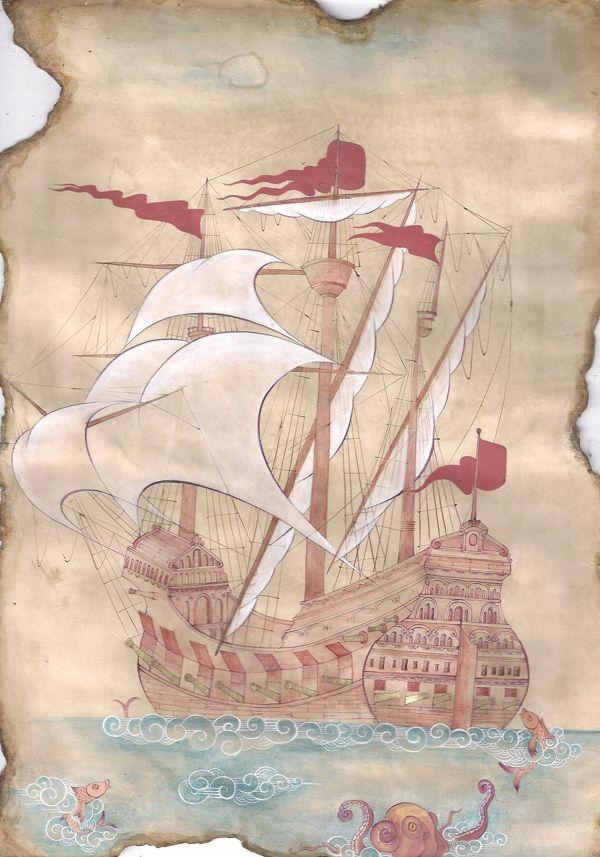 ottoman vessels by yasemin akyol, via Behance