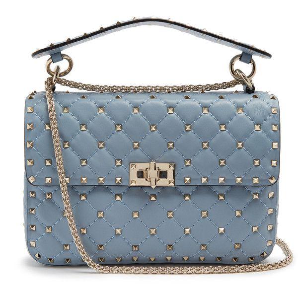 Valentino Rockstud Spike medium quilted-leather shoulder bag ( 2 54e789f6e8b
