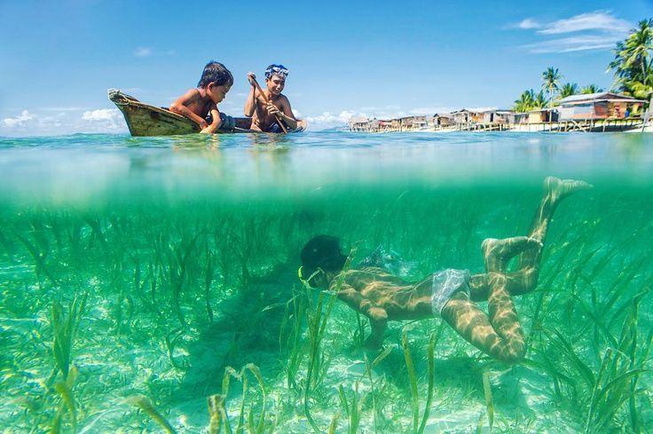 Dive for food #adventure #bajau #discover #diving #explore #exploresabah #life #kkcity #photo #photography #photooftheday #travel  #travelphotography #travelgram #semporna #sabah #malaysia #water #sea #urban #urbanexploration #nature #drobosummer
