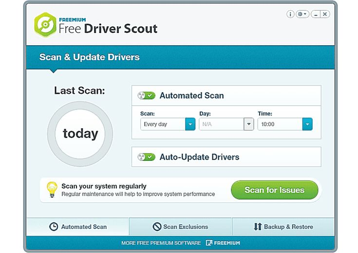 11 Free Programs That Will Help Update Drivers in Windows: Free Driver Scout