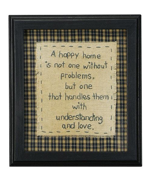 This rustic wall art will look playful yet chic in a delightfully decorated hallway or living room. Featuring a darling sentiment, it adds instant country-inspired style to any interior whether urban, rural or somewhere in-between. 7'' W x 8.13'' HWood / glassImported