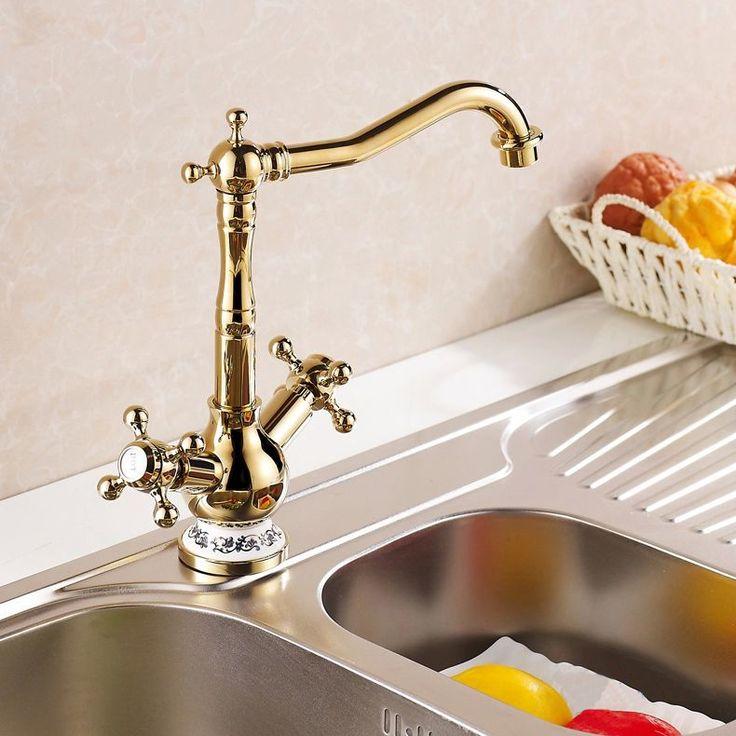 32 Best Kitchen Faucets Images On Pinterest  Antique Brass Magnificent Discount Kitchen Faucets Design Decoration