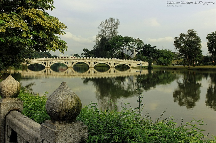 landscape at chinese garden singapore