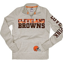 Women's Victoria's Secret PINK® Cleveland Browns 1/2 Zip Fleece (confession- i dont care about football at all, i just love all things cleveland/akron)