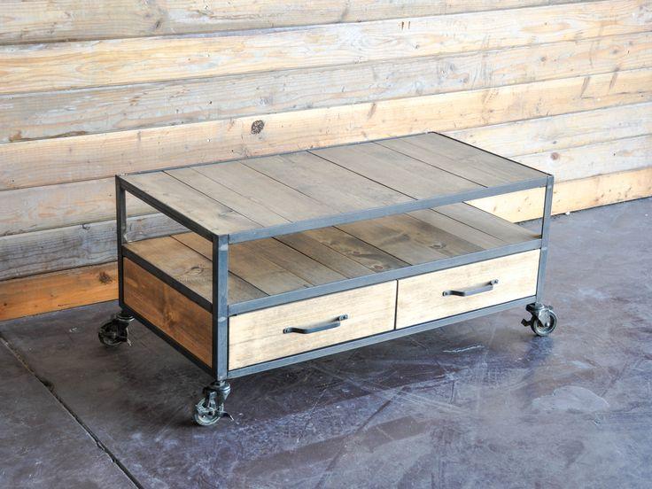 Coffee Table By Vintage Industrial Furniture Ideas Pinterest Vintage Industrial And Furniture