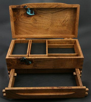 Best 10+ Wooden jewelry boxes ideas on Pinterest   Diy