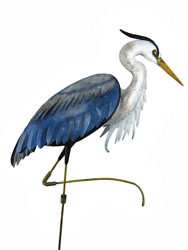 Amazon.com : Regal Art And Gift R282 Heron Standing Art, Large : Garden