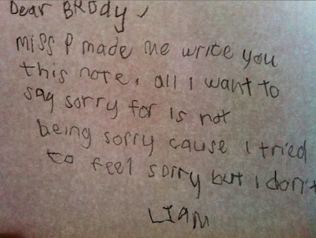Funny Letters From Kids (14)