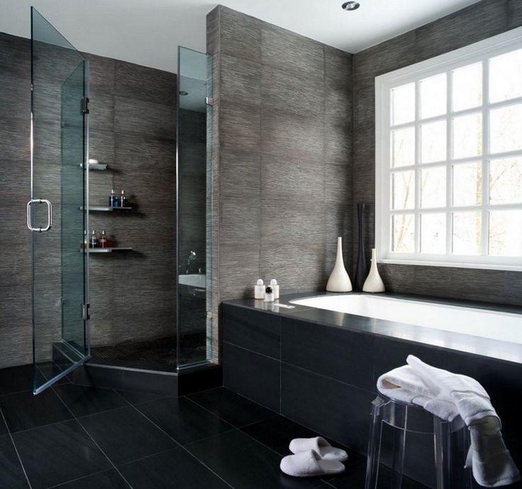 Die besten 25+ modernes luxuriöses Badezimmer Ideen auf Pinterest - badezimmer modern schiefer