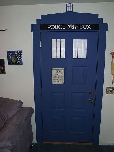 majestic dr who tardis door decal. Can we please decorate one of our doors like the TARDIS  I could do this with my bedroom door 38 best Geeky love images on Pinterest Celebrity Jokes and Nerdy