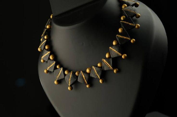 Terracotta jewellery - #Art