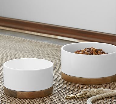 Brody Pet Bowl #potterybarn                                                                                                                                                                                 More