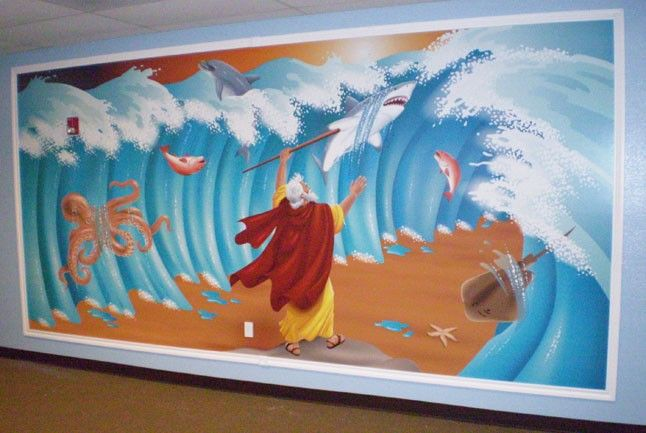 The Good News Today – Patchwork Bible Mural MINISTRY TIP