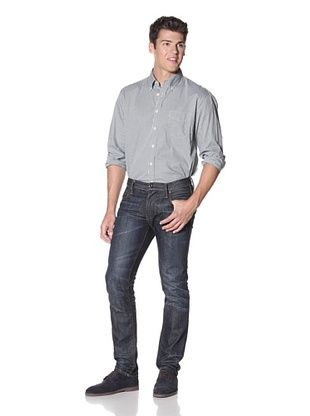 GANT Men's Yale Archive Pinpoint Long Sleeve Shirt