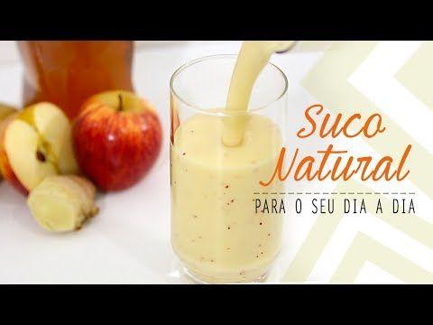 SUCO DE ABACAXI, BANANA E MAÇÃ #04 - YouTube
