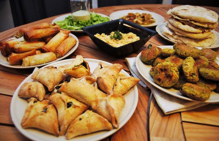 Menu#22 : et si on mangeait un repas libanais?