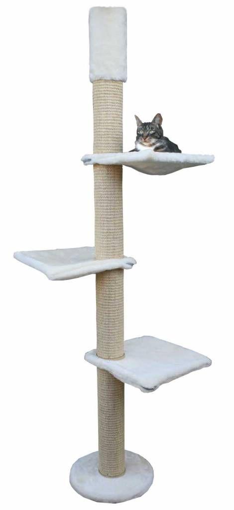Krabpaal Dagmar Crème is een hoge kwaliteit krabpaal van Kattens No1 voor zware katten. U koopt uw krabpaal Dagmar Crème bij uw krabpaal specialist.