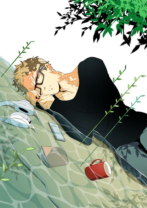 Tsukishima Kei [Karasuno]      Anime: Haikyuu!!          Character by Haruichi Furudate       Artwork not by me