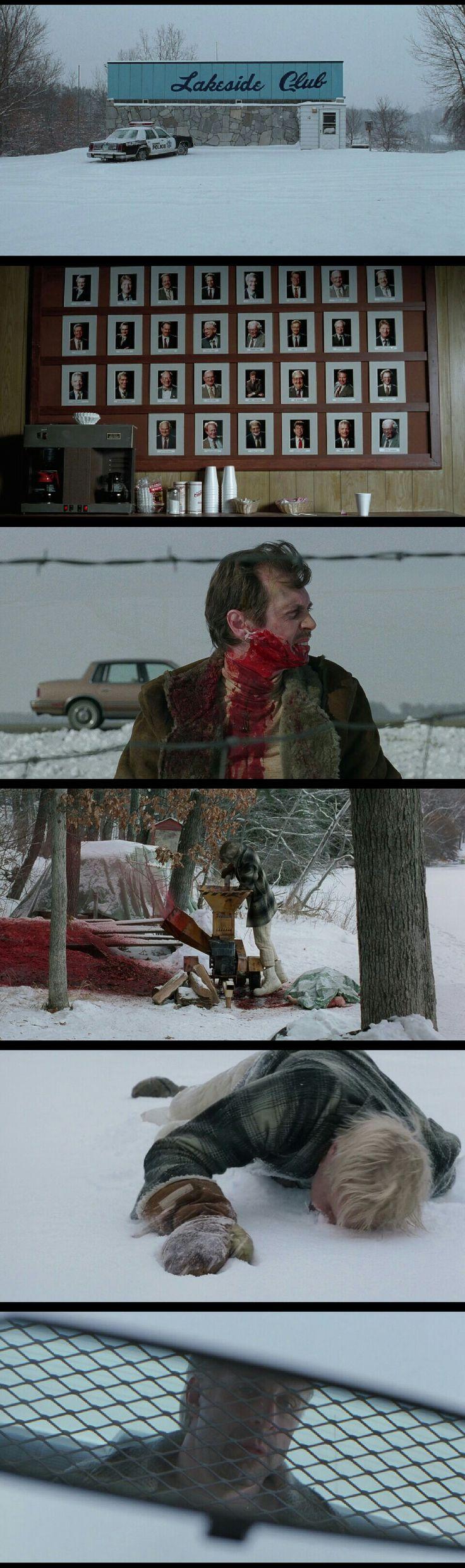 Fargo(1996). Cinematography by Roger Deakins.