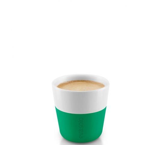 Eva Solo - Filiżanka do espresso 2 szt. Jolly green kawa, espresso, zielona, filiżanka