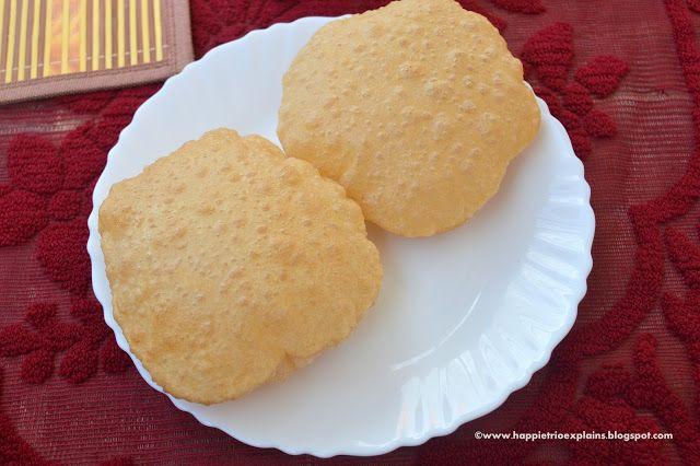 Poori | How to prepare fluffy poori