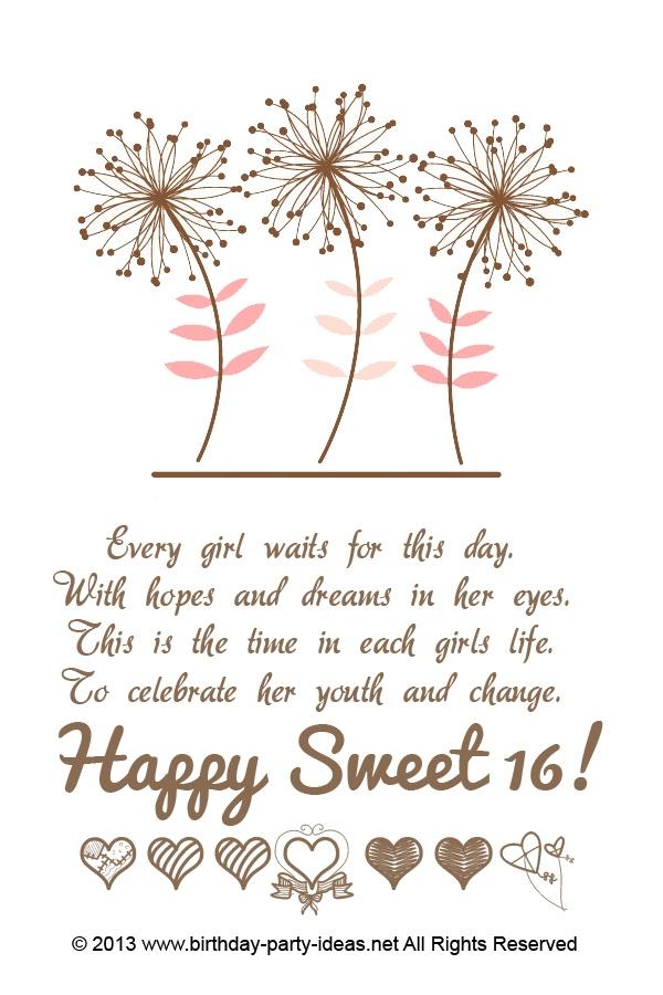 16th Birthday Party Invitation Ideas Sweet 16 16th Birthday
