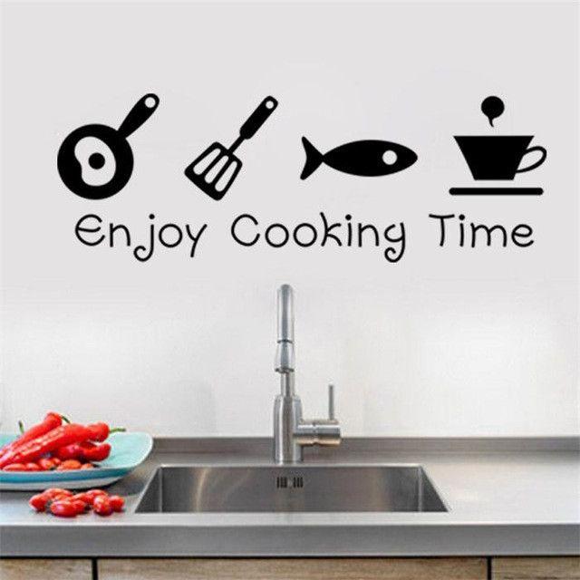 Creative Kitchen Wall Decor: 25+ Best Ideas About Kitchen Decals On Pinterest
