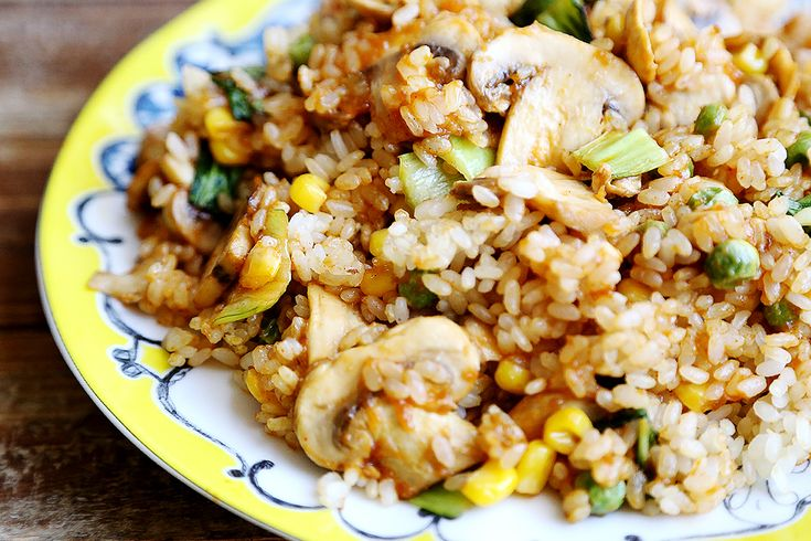 ... vegetarian meals recipe 001 rice recipe maple stir corn bok choy rice