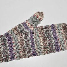 Handschuhe Basis * Fäustlinge in Sockenwolle 6-fach | Stricken lernen, Häkeln lernen mit eliZZZa * Socken stricken, Stricken Anleitungen,Strickmuster, Häkelmuster, Häkelanleitungen