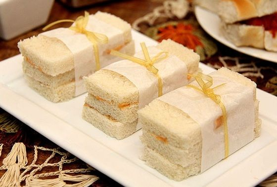 Mini Sanduíche frio - Por Renata Bastos…