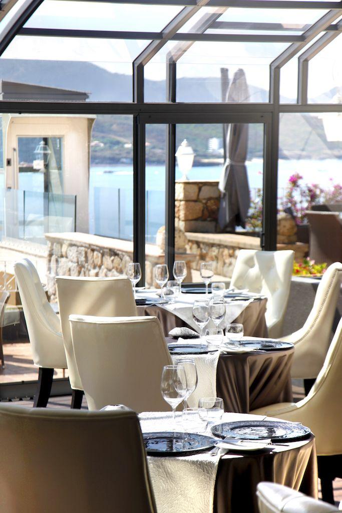Restaurant gastronomique la verrière hôtel marinca spa avec vue
