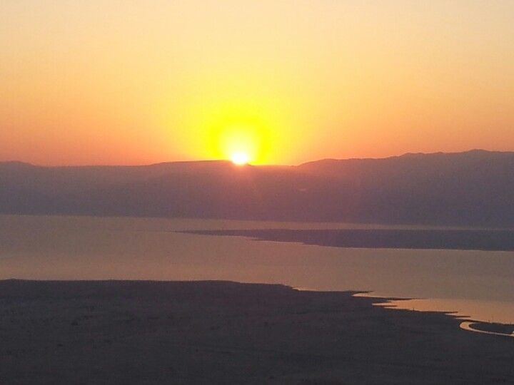 Sunrise Massada Israel
