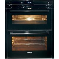 Siemens HB13NB621B - Pros: Preheats very quickly, cooks evenly, accurate controls, excellent grilling, easy to clean, retractable dials, catalytic lining, programmable oven Cons: Controls are slightly confusing to use good customer reviews best double oven - 78% - £640
