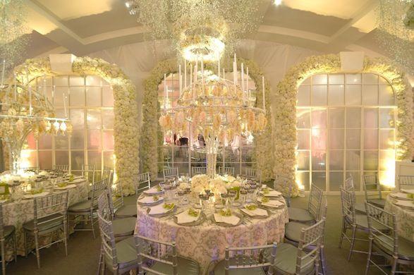 preston bailey Formal White Wedding Tent | white tent ...